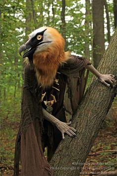 vulture fursuit - Google Search