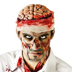 Halloween Brain Head Hat - Halloween Costumes and Accessories - Party Savers Party Supplies