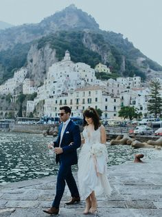 Amalfi Coast destination wedding