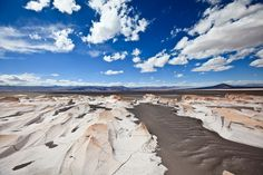 Campo de Piedra Pomez (pumice rock)  in  the Argentinian Puna, Catamarca province, Argentina.