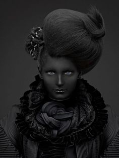 thomas lavelle | black on black | fashion photography #art