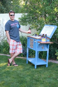 Ana White | Build a Wood Cooler by Birds and Soap | Free and Easy DIY Project and Furniture Plans