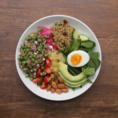 Pea Buddha Bowls are healthy, hearty and delicious