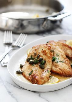 Easy Chicken Piccata Recipe | POPSUGAR Food