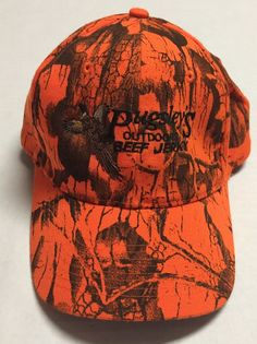 Pugsley s Outdoors Beef Jerky Hat Hunting Pheasant Baseball Cap Devils Lake  ND  Daystone  BaseballCap 25c2a6b33bd6