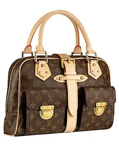 Louis Vuitton Manhattan GM bag. It would be ridiculous to ever buy it, but still I want it.