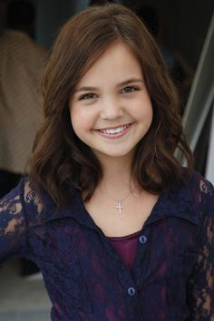 """Just know that God is in charge, and that He knows what he is doing."" -- Bailee Madison. She is adorable <3"