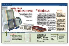Tet the Right Replacement Windows: They're a big investment with a big potential payoff. Here's what you need to know about types, warranties, comfort, and installation. | Fine Homebuilding Magazine