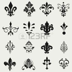 1000 id es sur le th me tatouage fleur de lys sur pinterest tatouage fleur motifs tatouages - Dessin fleur de lys royale ...
