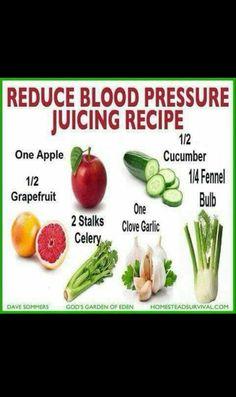 BLOOD PRESSURE JUICING
