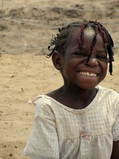 """Peace begins with a smile"" -Mother Teresa #quotes #africa #children"