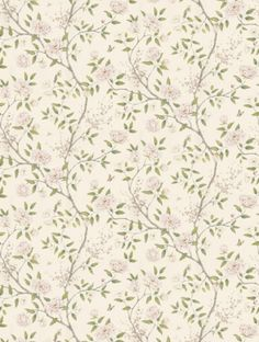 Zoffany's+Romey's+Garden+Blossom++in+blossom+is+taken+from+the+Woodville+wallpaper+collection.