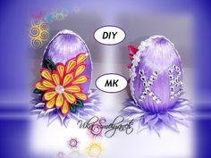 Пасхальные Яйца Канзаши Мастер 2018 / Easter Eggs of Kanzashi / Ostereier kanzashi - YouTube