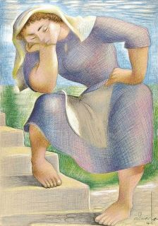 Almada Negreiros #Portugal Portugal, Traditional Paintings, Sculpture, Caricature, All Art, Art Forms, Female Art, Art Images, Design Art