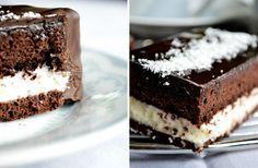 Kinder Pingui s kokosom - Mňamky-Recepty. Nutella, Tiramisu, Cake Recipes, Ethnic Recipes, Food, Cakes, Food Cakes, Kuchen, Kids