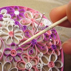 Quilling Flowers PDF Pattern / Tutorial by PaperZenShop on Etsy