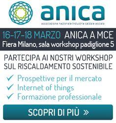 """ANICA InFormazione a MCE 2016 con """"Le  5 misure per il risparmio energetico"""""""
