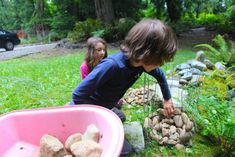 By Liesl Clark We simply have too many rocks in our soil. When we harvest potatoes, there are many false alarms on harvest day as perfect potato-shaped rocks are procured from the soil rather than… Stone Landscaping, Landscaping With Rocks, Backyard Landscaping, Backyard Ideas, Back Garden Design, Garden Landscape Design, Stone Flower Beds, Rock Planters, Gabion Baskets