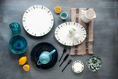 Lasst euch vom farbenfrohen Design Buntgeflammt inspirieren und entdeckt tolle Kombinationsmöglichkeiten - handgefertigt seit 1492