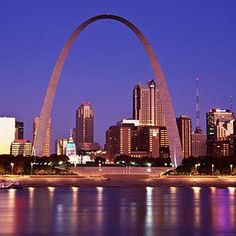 the arch! St. Louis, MO