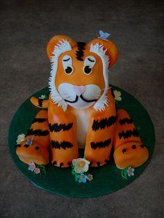 Geburtstagskuchen tiger