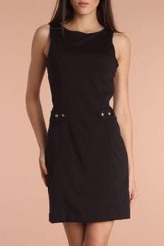 Esprit Ponti Di Roma Dress In Black
