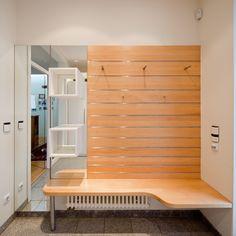 Spiegel , Kästen und Stitzbereich Holzart Buche