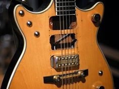 Malcolm Young of AC/DC Gretsch Jet Firebird as it is now...