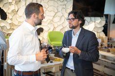 Buyfresh Co-Gründer Franco Jenal und marmite Chefredaktor Andrin Willi. Food Lab, Marmite, Shopping, Foods