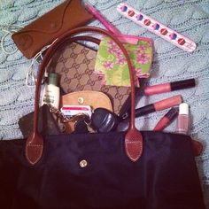 Purse belongings