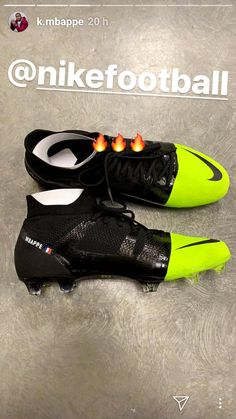 New boot of mbappe