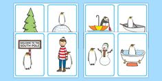 Our polar region resources are perfect for understanding the life of polar bears, penguins and many more animals living in the North and South Poles! Maths Eyfs, Eyfs Classroom, Eyfs Activities, Weather Activities, Interactive Activities, Language Activities, Oliver Jeffers, Positional Language, Arctic Explorers