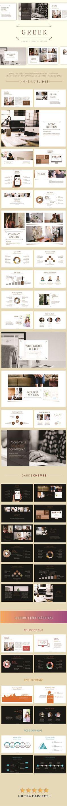 Presentation template #simple #minimalist
