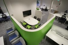 Collaborative furniture by steelcase office lounge for Office design northern ireland