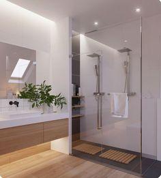 Best Design Of Minimalist Scandinavian Bathroom Style Ideas Minimalist Bathroom Design, Minimalist Home Decor, Bathroom Interior Design, Modern Minimalist, Modern Scandinavian Interior, Minimalist Apartment, Interior Livingroom, Interior Door, Apartment Interior