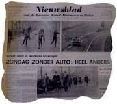 Eerste autoloze zondag, november 1973.
