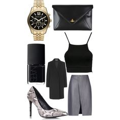 Evening look ✌️ by swelshgirl on Polyvore featuring polyvore, fashion, style, NLY Trend, Acne Studios, Whistles, KG Kurt Geiger, Vivienne Westwood, NARS Cosmetics and Michael Kors