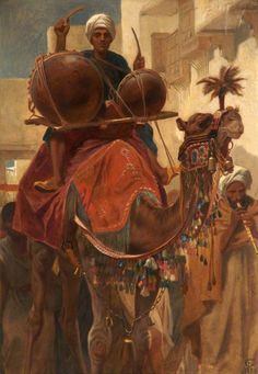 Frederick Goodall - The Marriage Procession
