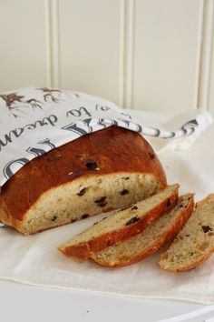 Hjemmebakt julebrød - My Little Kitchen Norwegian Cuisine, Norwegian Food, Types Of Bread, Cloud Bread, Little Kitchen, Christmas Baking, Baked Goods, Banana Bread, Sweet Treats