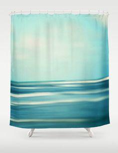 Ocean photography Blue Aqua Sea Waves Abstract Seaside Bathroom, Beach Bathrooms, Coastal Cottage, Coastal Style, Beautiful Interior Design, Ocean Photography, Duck Egg Blue, Beach House Decor, Beach Themes