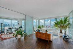 Living Room 1040 Biscayne Boulevard, Unit 3207, Miami, FL, 33132 #TenMuseumPark #madeleineromanello #realmiamibeach 