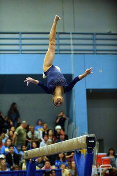 Mattie Larson--UCLA. That height.