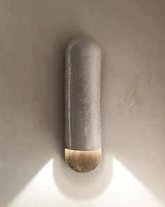 RAKU-YAKI COLLECTION. SCONCE . By Emmanuelle Simon #emmanuellesimon #light #sconce #design #furniture #collection  #raku @fabienne_lhostis #brass #ateliersbataillard