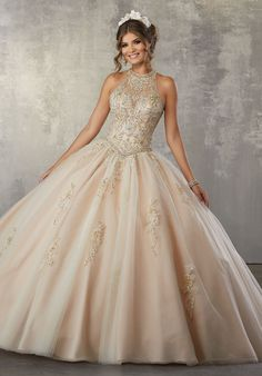 1e2099141d9 Illusion A-Line Quinceanera Dress by Mori Lee Vizcaya 89178 Quencenera  Dresses