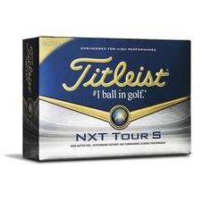 Titleist NXT Tour S White Golf Balls 2014