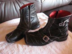 Tiggers Gr.38/ schwarz mit Reißverschluss/ sehr gut erhalten in Kleidung & Accessoires, Damenschuhe, Stiefel & Stiefeletten   eBay