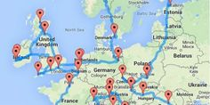 Here Is a Plan Of the Most Epic European Road Trip You Can Possible Take!