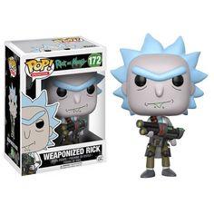 Rick and Morty Pop! Vinyl Figure Weaponized Rick