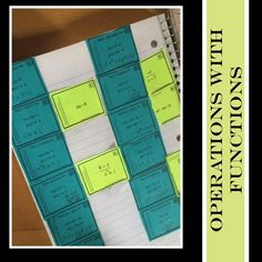 A little practice with Operations with Functions is tons of fun with these scavenger hunt cards.  Skip the worksheet...students get up and moving to practice and review.  Can you say test prep?