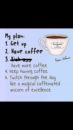 Okay I won't be drinking that much coffee. It's still funny though :D